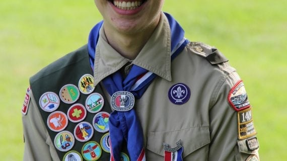 Ryan Smith Of Chester Earns Eagle Scout Rank