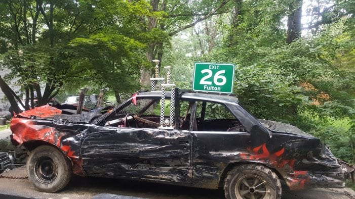 Budd Lake Man Wins Smashing First Place At Sussex County Demolition Derby