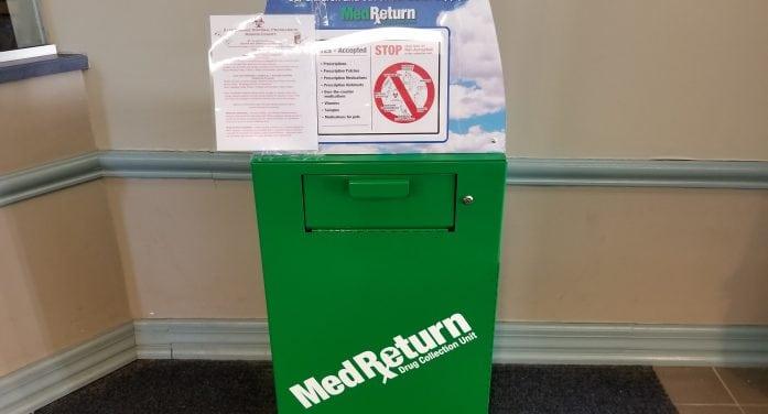 New Prescription Drop Box Added In Morristown
