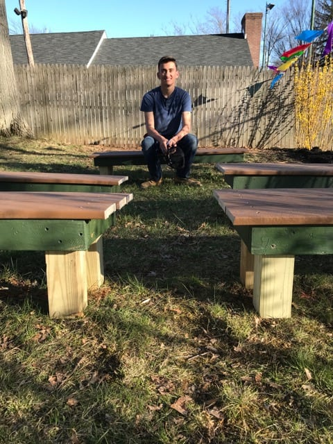 Brilliant Mendham Boy Scout Completes Outdoor Classroom For Co Op Uwap Interior Chair Design Uwaporg