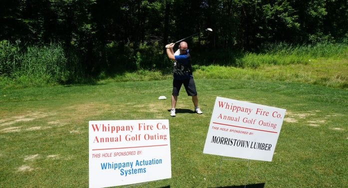 Whippany Fire Co Golfers Hit The Green For Annual Outing