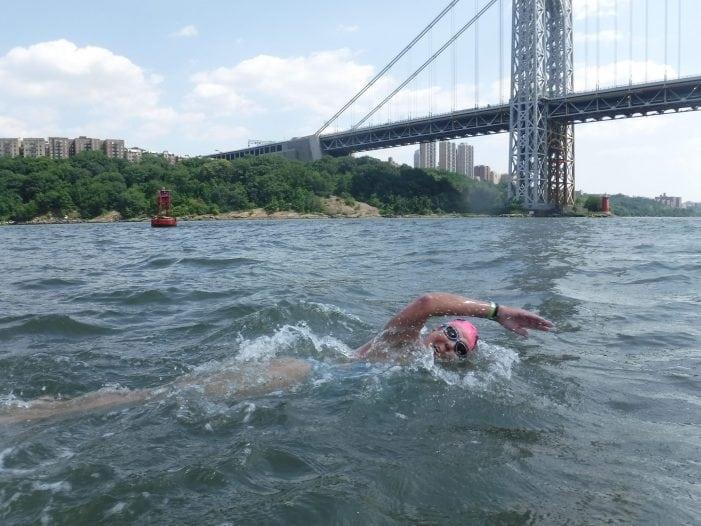 Long Valley Woman Swims Around Manhattan