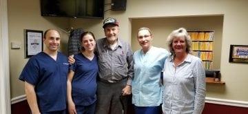 Local Dentist Repays Navy Veteran for His Service