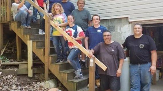 Netcong Church Members Help Repair A Home For Habitat For Humanity