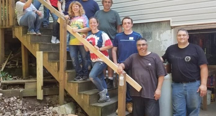 Netcong Church Members Help Repair A Home For Habitat For Humanity