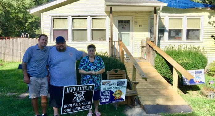 Free Roof For Deserving Family Brings Some Relief
