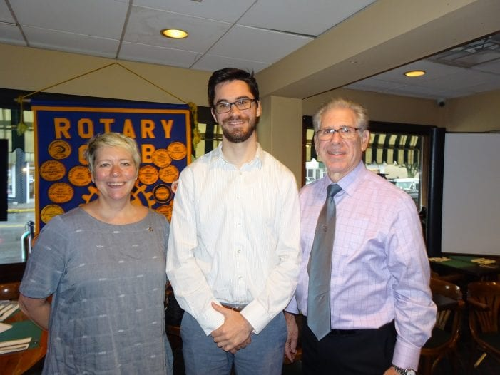 Rotary Gets Peace Corps. Lesson