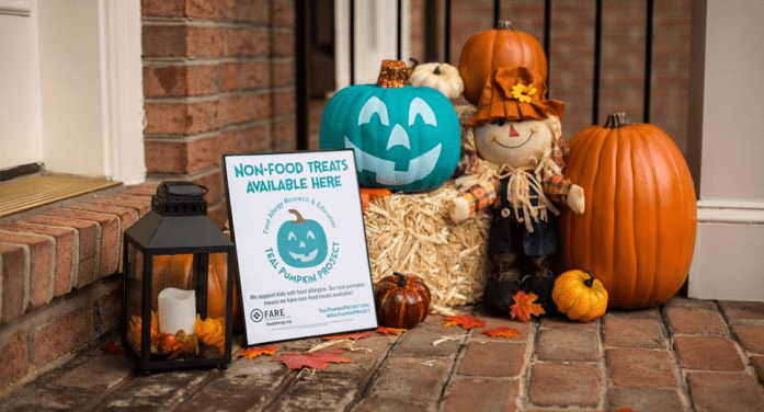 Kids With Food Allergies Can Look For Teal Pumpkin For Safer Halloween