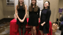 Sarah Mattalian is the one on the far left