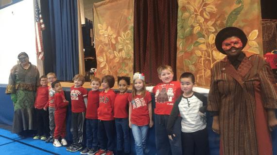 Maxim School Students Enjoy Bullying Assembly