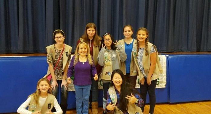 Powerful Speaker Enlightens At Girl Scout Anti-Bullying Event