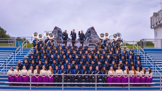 Randolph Marching Band Takes Top Prize