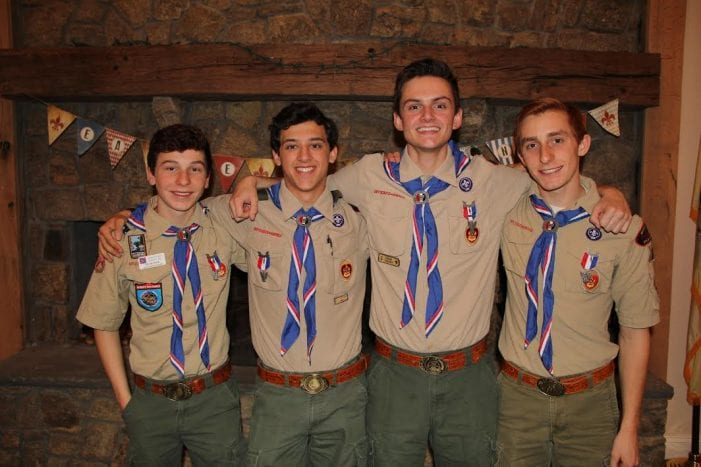 Chester Boy Scouts Eagle Scout Ceremony
