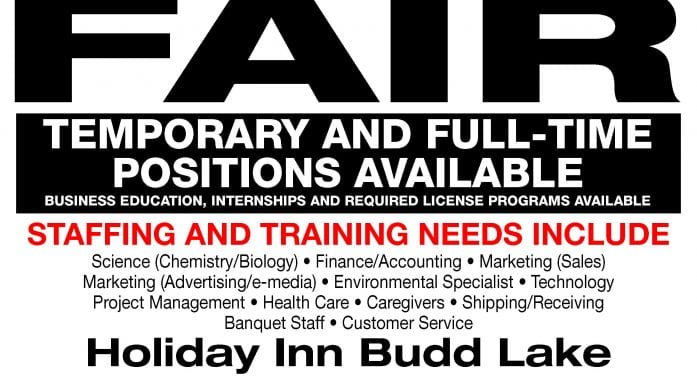 Job Fair January 9th