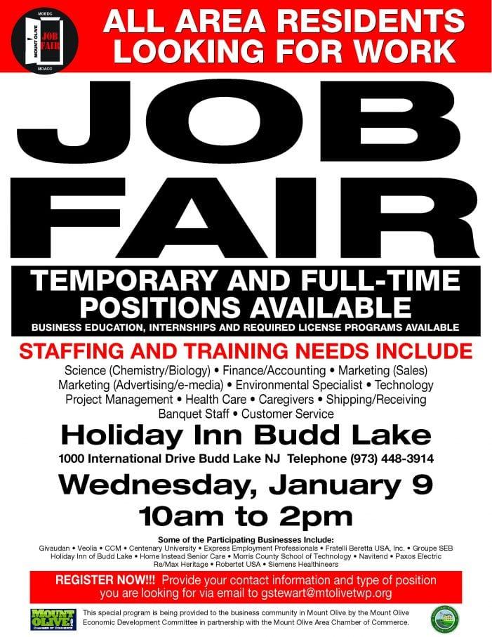 Job Fair January 9th