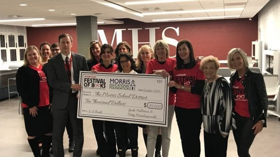 Morristown Festival of Books and the Morris Educational Foundation Partner to Fund Social and Emotional Literacy Libraries in the Morris School District.