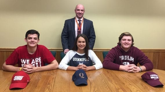 Three Gaels Sign National Letters of Intent