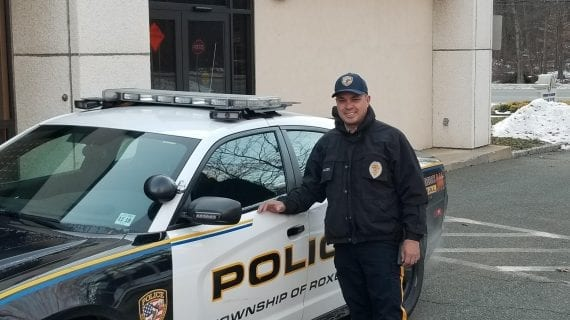 Retiring Roxbury Township Police Officer Shows his big Heart and Generosity to Cycling Stranger