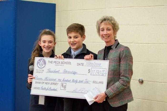 "Peck School's ""Pasta for Preschool"" FundraiserRaises over $10,000 for Preschool Advantage"