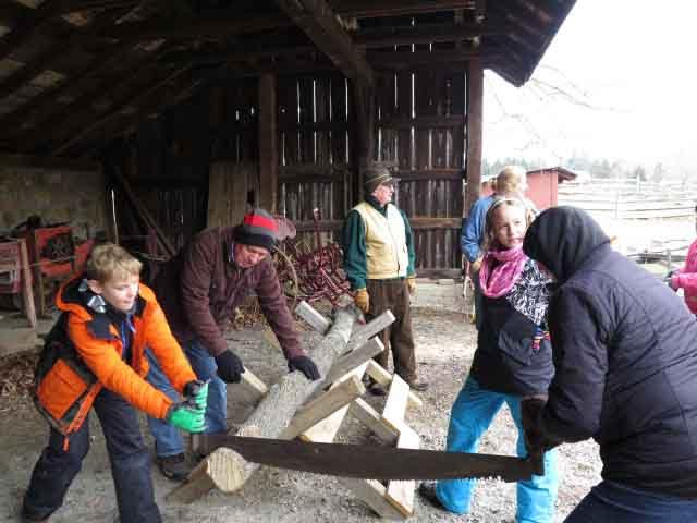 A WINTER'S DAY ON THE FARM ON SUNDAY, FEBRUARY 3 AT FOSTERFIELD LIVING HISTORICAL FARM
