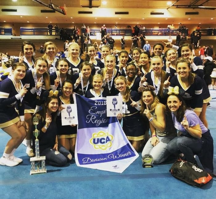Roxbury cheerleaders flip over to National Finals in Florida by Ricki Demarest