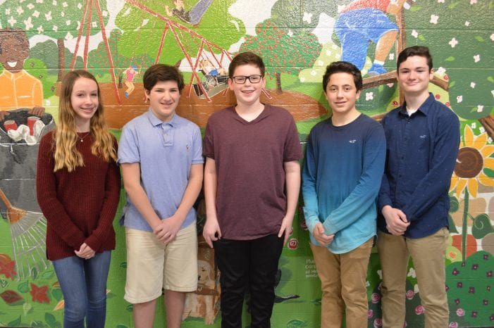 Randolph Middle School musicians were selected for the Junior Area Band