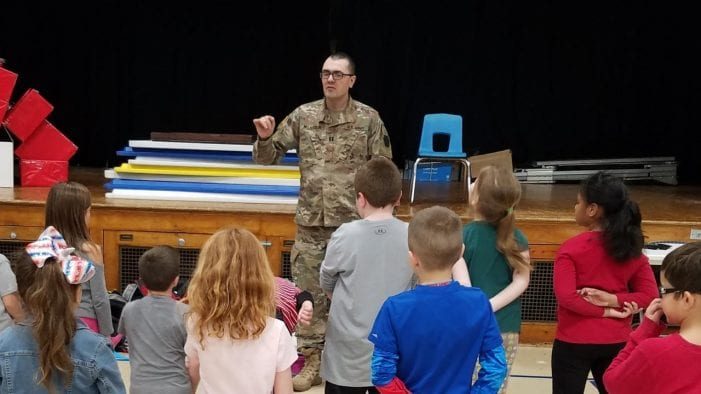 Roxbury Elementary School Children Write Letters to Serviceman, Receive a Thank You in Person