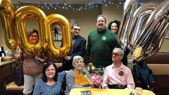 Paragon Village Celebrate Victor Farina's 100 th Birthday.