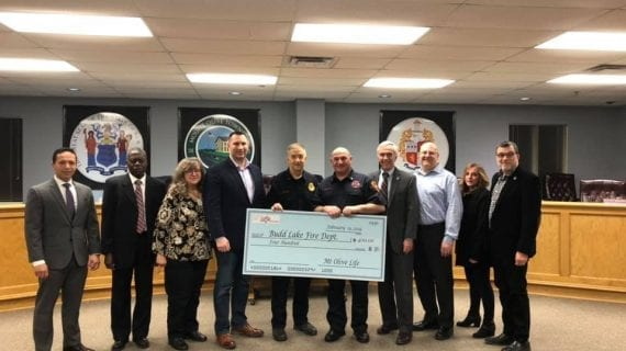 Donation to Budd Lake Fire Department