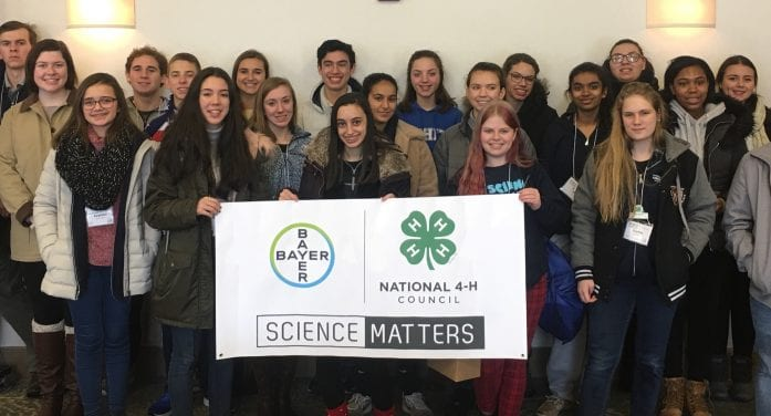 TWO MORRIS COUNTY 4H-ERS ATTEND NATIONAL AGRI-SCIENCE SUMMIT