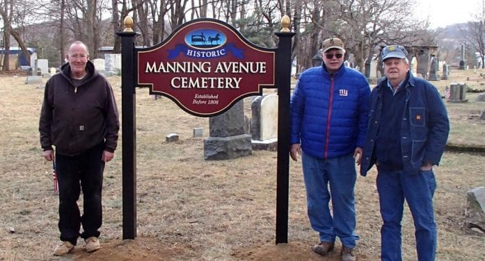 Historic Manning Avenue Cemetery Restored