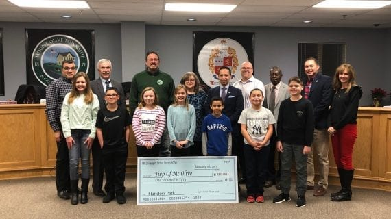 Girl Scout Troop Hosts Bake Sale, Raises Funds to Improve Playground