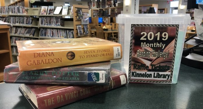 Kinnelon Public Library Hosts New Monthly Reading Challenge