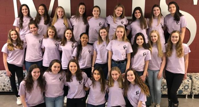 Morristown High School Girls in STEM Club Hosts 2nd Annual Girls in STEM Day for 8th Grade Girls.