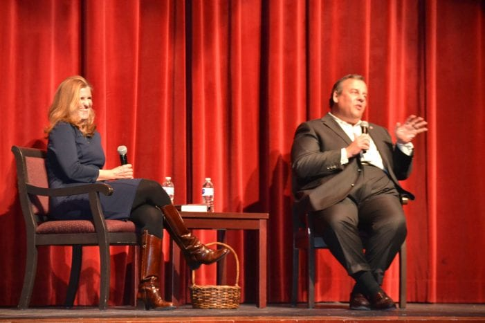 Christie Signs Books, Hosts Q&A for Mendham Township Library Fundraiser