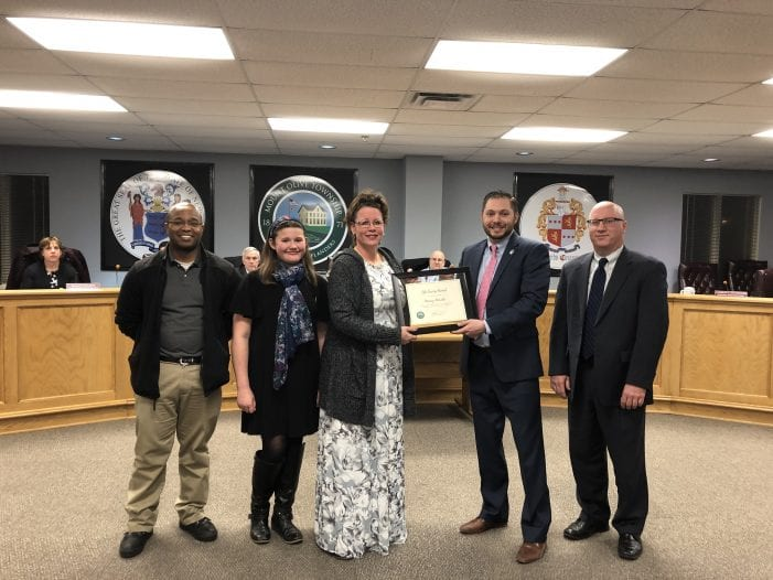 Mount Olive Township Employee Saves Life