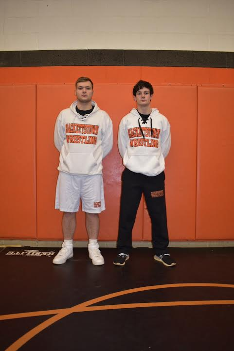'Captains Led The Tigers On The Mat This Year'