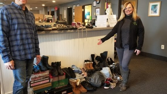 Village Family Clinic Hosts Boot Drive