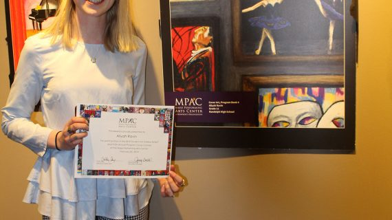 Randolph Teen Wins Mayo Performing Arts Center Cover Contest