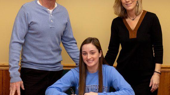 Roxbury HS Senior Bridget Doherty Signs to University of Rhode Island