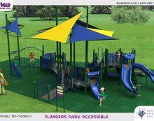 Flanders Park Renovations Underway