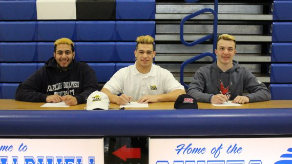 Three James Caldwell Lacrosse Stars Sign at Various Colleges