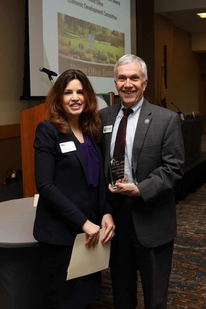 County Economic Development Corp. Honors Township of Mount Olive