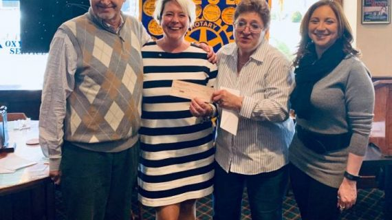 Rotary Club of Caldwell's Receives Donation