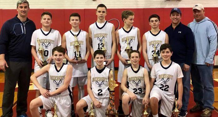 Roxbury Seventh Grade Travel Basketball Repeats as Champs