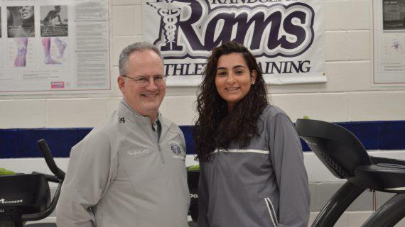 Randolph High Celebrates Athletic Trainers