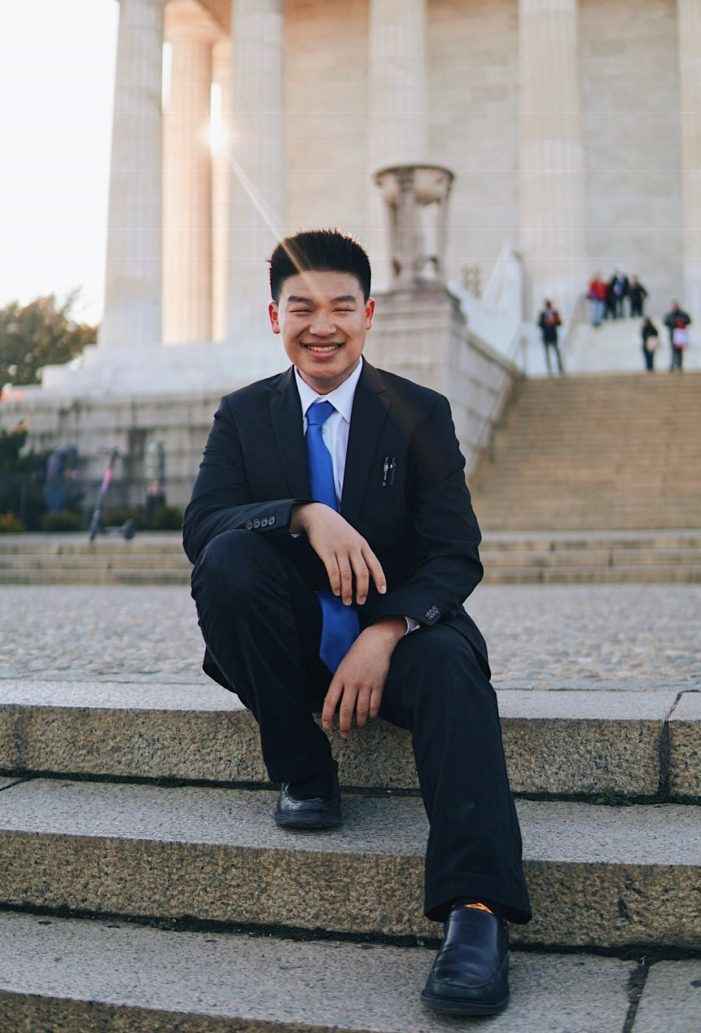 Millburn HS Student Participates in Youth Senate Program
