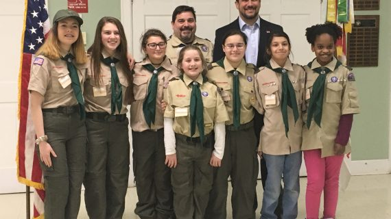 First All-Girl Scouts BSA Troop Is Chartered in Long Valley