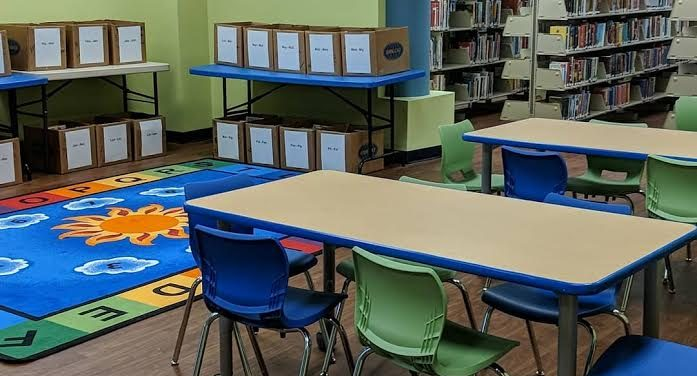 Caldwell Library Children's Room Reopens