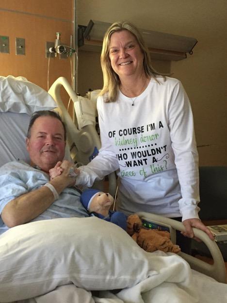 Roxbury's Kim Roumes Donates a Kidney to Neighbor Bob Williams